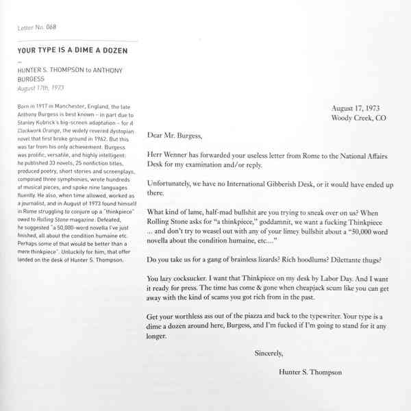 A Part Of Me Wishes I Was Funny And Cruel Enough To Write Letter. Except The Editor Was Hunter S Thompson Midda1o. Worksheet. Worksheet Letter To The Editor At Clickcart.co