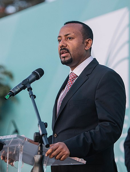 Ethiopian Prime Minister and Nobel Laureate Abiy Ahmed Ali